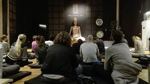 Seara de meditatie