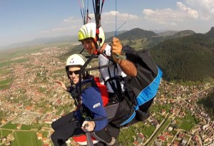 PARAGLIDING AND FEAR LESSON