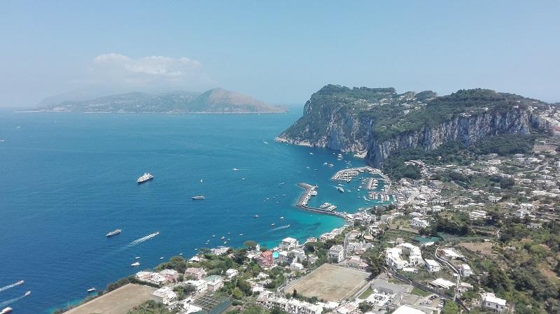 Capri, insula din Italia ca o poezie